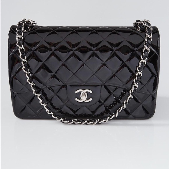 0d71c6d0a6a1 CHANEL Bags | Patent Leather Jumbo Flap Bag | Poshmark